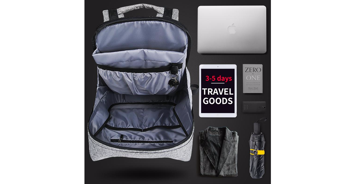 anti theft backpack for travel